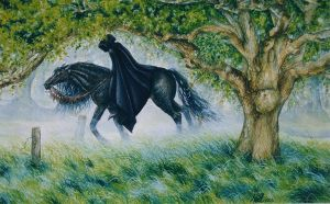 Darkness enters the Shire. by nellmckellar