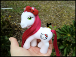 Hello Kitty Pony :D by GrandmaThunderpants