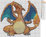 Pokemon - Charizard by Makibird-Stitching