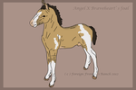 Angel Dust X BraveHeart' s foal - CLOSED by ForeignFrontierRanch