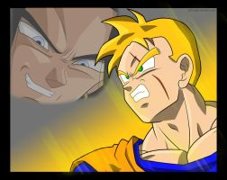 Future Gohan's Battle by kyo4455