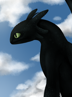 Toothless by Castel-Eown