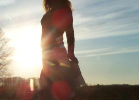 rainbows by ocean-dance
