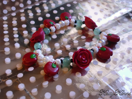 Magic Poison Apple Bracelet by Cateaclysmic