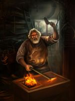 Black smith by nguo