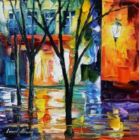 Little feelings by L.Afremov by Leonidafremov