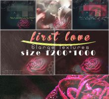 first love texture set  by Komalgraphix by neelohoney