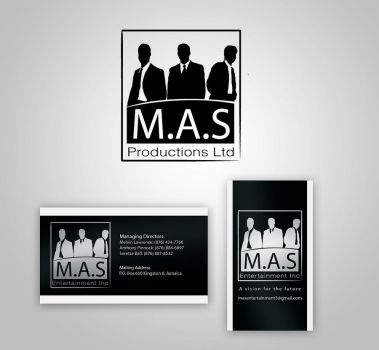 MAS logo and Business card by yanic