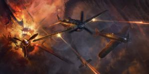 Warplanes by SSGlushakov