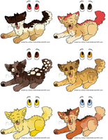 Desserts Puppy Adoptables 1 LEFT by MikasAdoptables