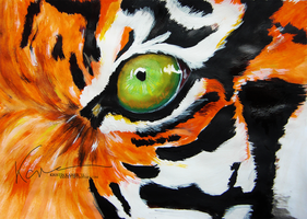 Eye of the Tiger by Krissey