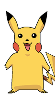 My first Pikachu by FunkyDreamer