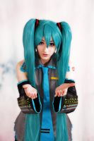 Miku Hatsune Cosplay 2 by Jemminem