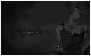 [H+T sketch/drabble] stray. by rexcorvis