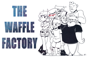 The Waffle Factory official banner by GusDraws