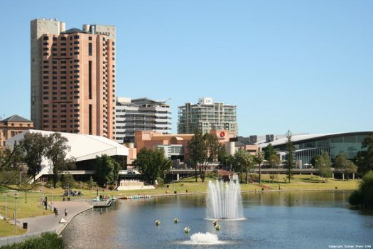 Adelaide Cityscape by i-have-a-face