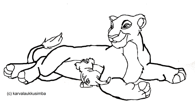Viewtopic additionally La Guardia Del Leon Para Colorear E Imprimir likewise Angry Kovu 353066051 additionally How To Draw Baby Simba From The Lion King also The Lion Guard 587054184. on drawing from the lion king nala