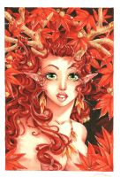 Fantasy Females-Faun by Faerytale-Wings