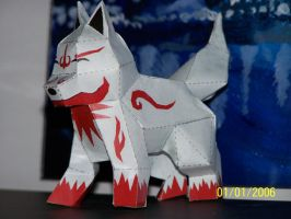 Fox Dog Wolf? papercraft pic4 by Draco3013