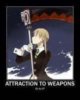 Maka - Weapons by KH13Girl