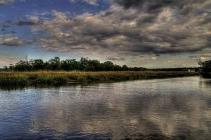 Island in the Marsh by Soulkreig