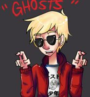 dave strider: ghost hunter by PeppermintCactus