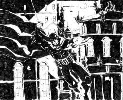 Dark Knight by lebriz