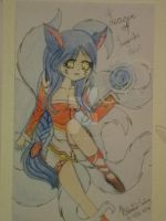 Ahri - League of Legends by Jeinaz