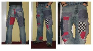 Patchy Jeans by PlasticusForkus