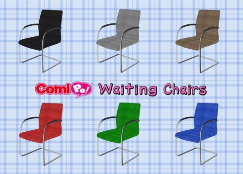 Waiting Chairs for ComiPo by Vandarque