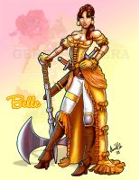 Warrior Princess Belle by andre4boys
