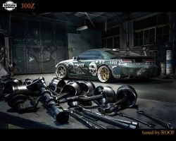 NISSAN300Z PROSTREET by ROOF01