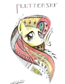 Art of shyness by escagorouge