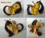My little Pony Custom G1 Baby Bee by BerryMouse