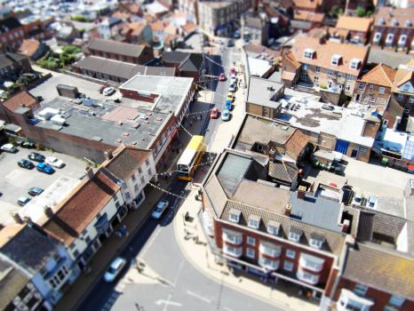 view from Cromer church pan-tilt by poemagraphic