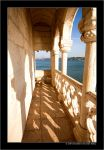 Belem Tower by sandervandenberg
