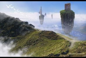 Through Mist by prolificlifeforms