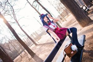 LoL - Sunny Breeze / Ahri by TrustOurWorldNow