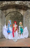 Magic Knight Rayearth by jiocosplay