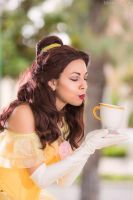 Belle: Enchanted Teacup by MomoKurumi