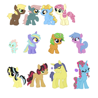 Fillies and Colt adopts OPEN by InuLover097