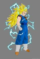 SSJ 3 Vegetto by RobertoVile