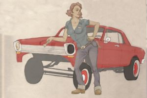 Pin-Ups and Gassers. by RoscoeFink