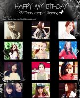 Icon Kpop - Ulzzang # Happy birthday to me by Zip0602