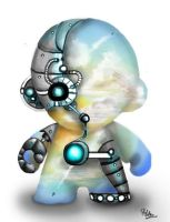SkyBot Munny by Enchanters-Blood