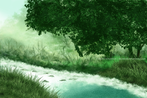 White river by GeneRazART