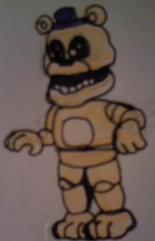 Adventure Fredbear (TNaF) by FreddleFrooby
