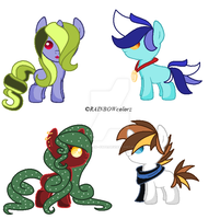 Foal Adopts CLOSED by FallenFateAdopts