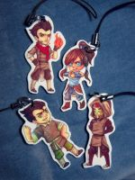 Legend of Korra Charms pt 1 by ChibiKinesis