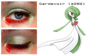 Pokemakeup 282 Gardevoir by nazzara